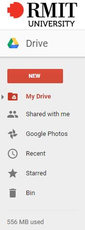 Using Google Drive - myCommunity