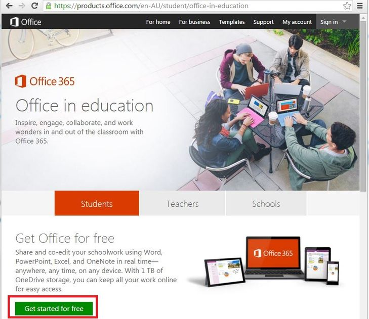 get microsoft office 365 for free mycommunity