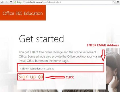 Get Microsoft Office 365 for free - myCommunity