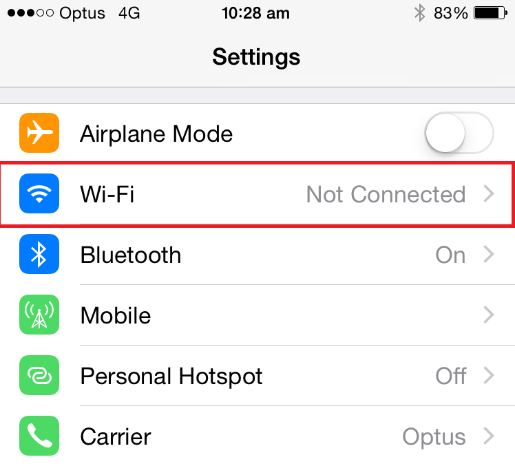 rmit how to connect to wifi phone